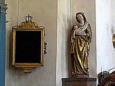 Maria, Jesus och inga psalmer