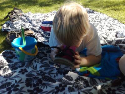 Elias mugghållare sandalen
