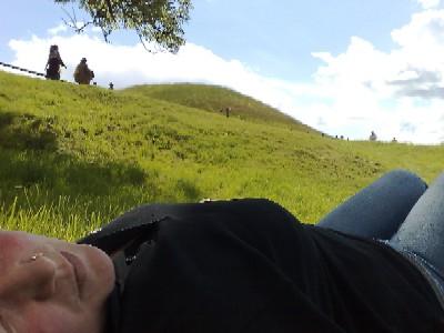 Många kullar i Gamlis