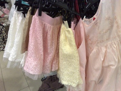 Spetsiga kjolar