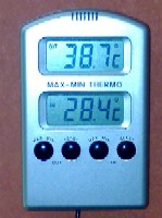 Termometer hetta