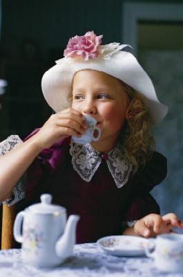 Te i barnkammaren