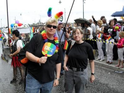 Ulrika och Anna-Karin på Pride2