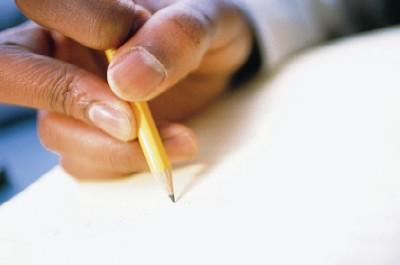 Penna och hand