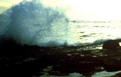 stormigt hav