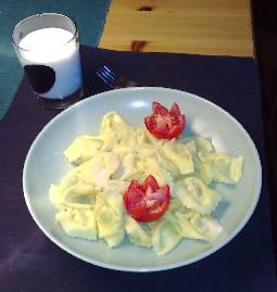 pasta med tomater