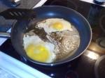 stekta ägg