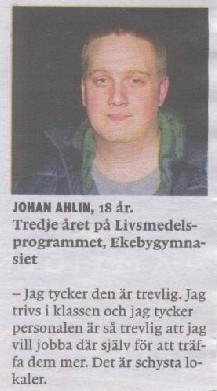 Johan i UNT1
