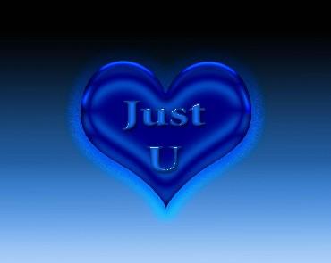 just u