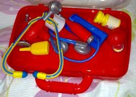 doktorsväska leksak