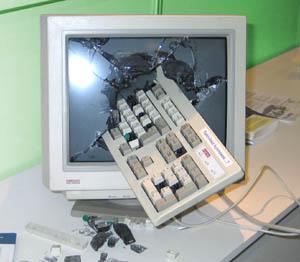 kraschad dator