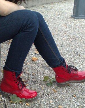 Fridas röda kängor