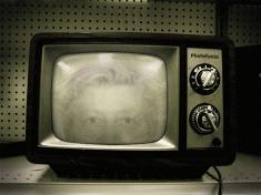 På tv