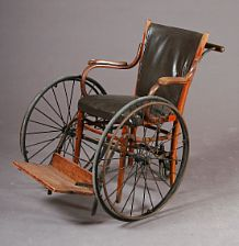 Gammal rullstol