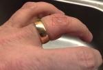 Bränt finger