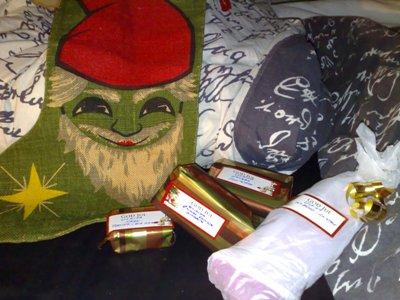 julklappar i strumpan 2011