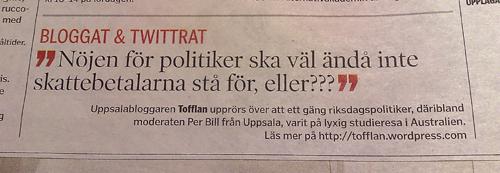 citerad i Uppsalatidningen 20120309