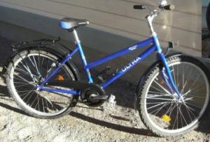 Elias blå cykel