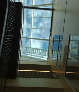 takfönster hall