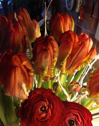 Blommorna fr jobbet
