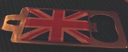 Union Jack kapsylöppnare