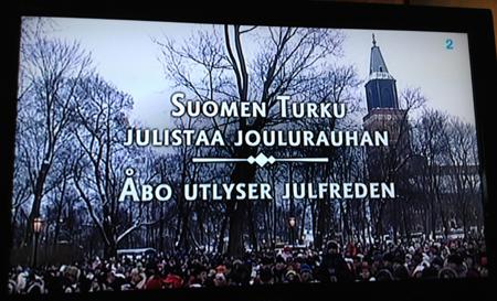 Julfreden i Åbo