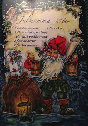 Julmumma julkort