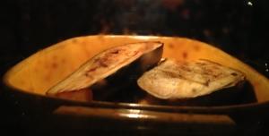 Aubergin i ugnen