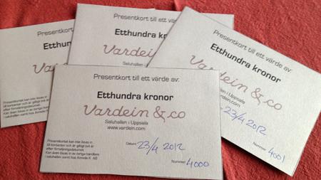 Presentkort till Saluhallen