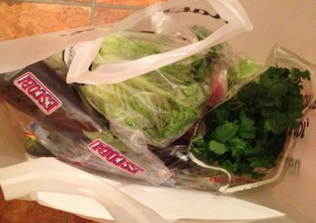 grönsakspåse