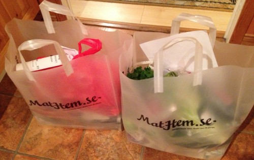 Matkassar från Mathem