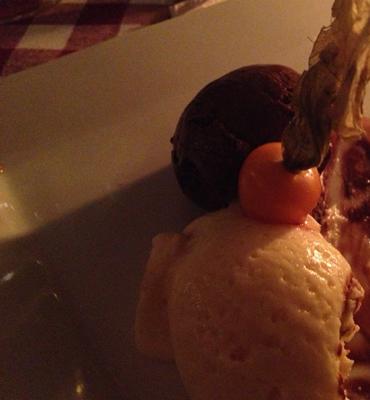 Dessert chokladmousse