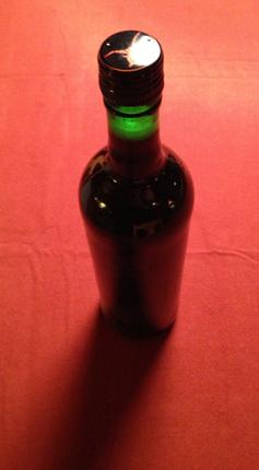 en vinflaska