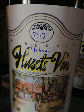 Husets vin