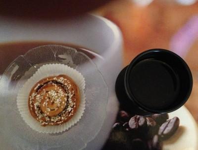 kanelbulle o kaffe