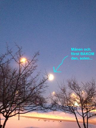 Månen strax före kl 18