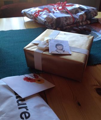 Julklappar och paket