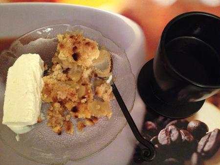 Äpplepaj m glass o kaffe