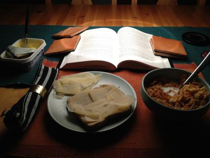 frukost till middag