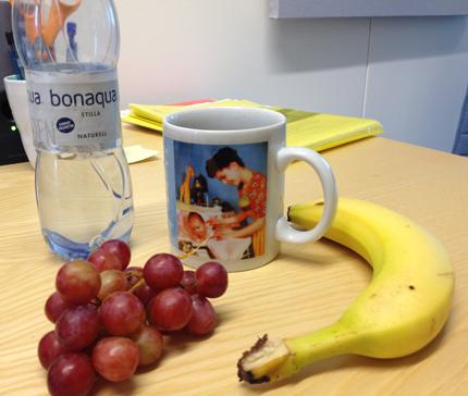 Fruktstund på jobbet