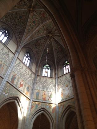 Taket i Domkyrkan