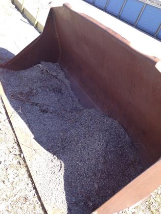 En skopa sand