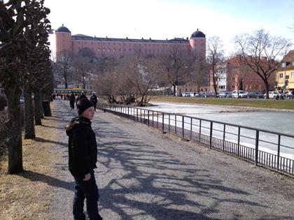 Elias vid Svandammen