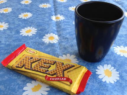 Kexchoklad o kaffe