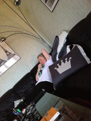 Anna i min soffa