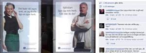 Länsförsäkringars affischkampanj