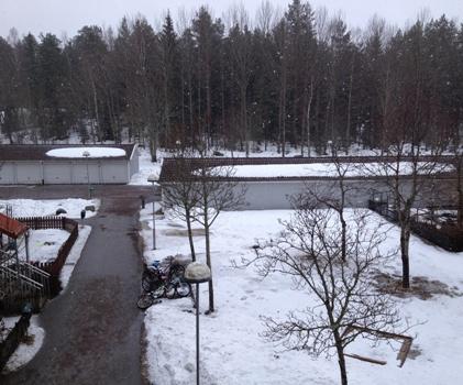 Snö i Himlen
