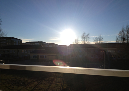 Sol på Sista april