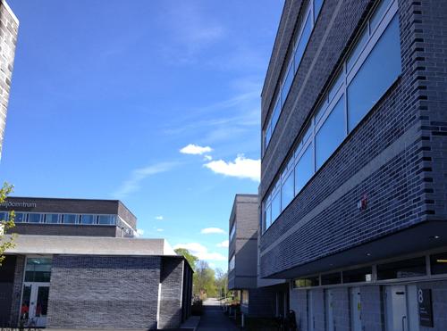 Biocentrum o MVM huset vinklar