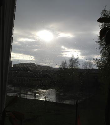 Mörk o regnig majkväll